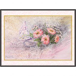 jual lukisan surabaya minimalis 8005-1