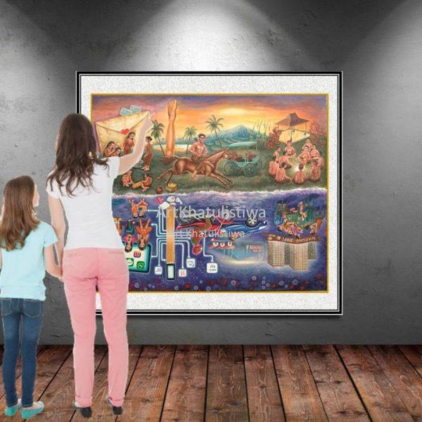 jual lukisan surabaya lukisan kontemporer 10001-1-2