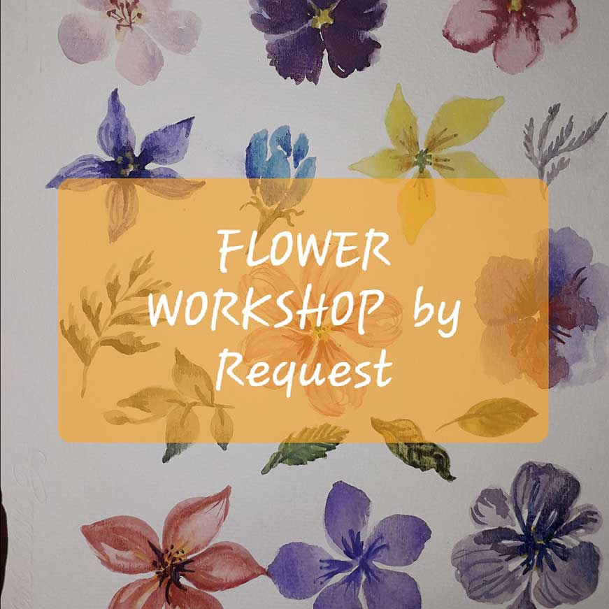 workshop surabaya basic flower