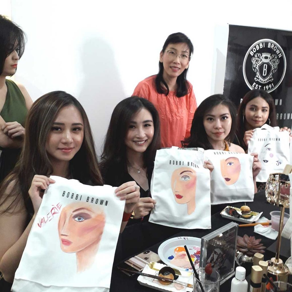 workshop surabaya totebag bobbi brown galaxymall