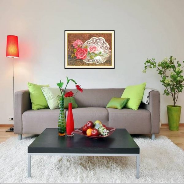 galeri lukisan bunga 4005-1-1
