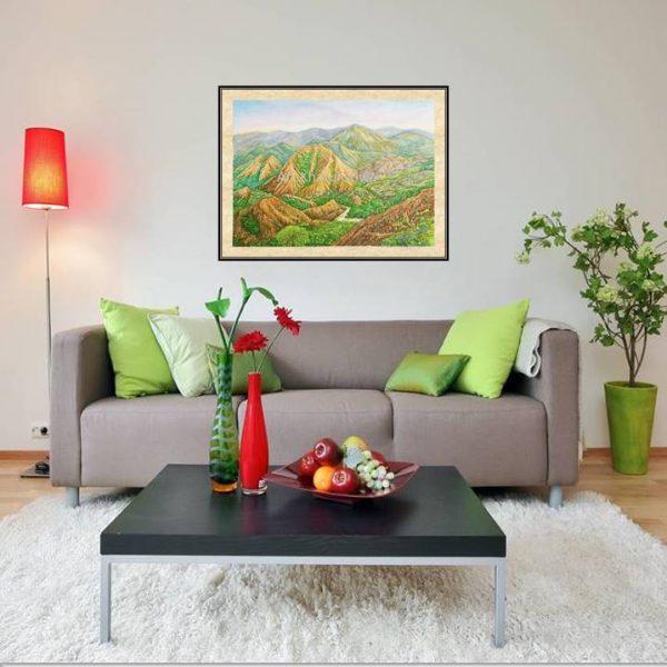 galeri lukisan gunung nona sulawesi selatan indonesia 1012-1-1