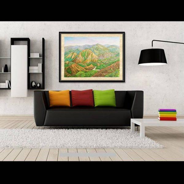 galeri lukisan gunung nona sulawesi selatan indonesia 1012-1-2