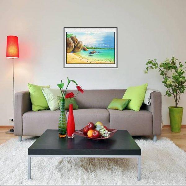 galeri online jual lukisan tanjung tinggi belitung indonesia B207-1-1