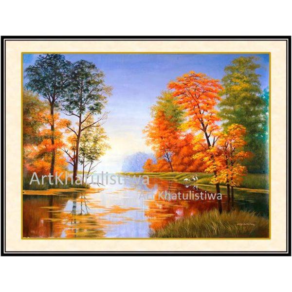jual lukisan kanvas surabaya1020-1