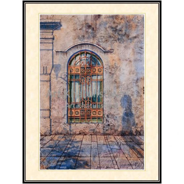 jual lukisan kota tua jakarta 5007-1a