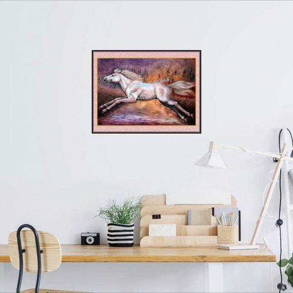 jual lukisan kuda 7012-1-1