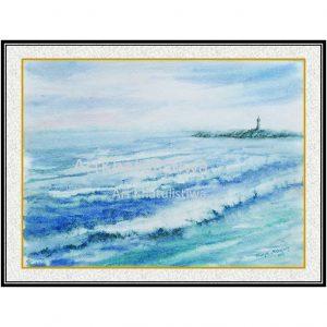 jual lukisan minimalis 3010-1