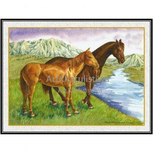 jual lukisan online 7006-1
