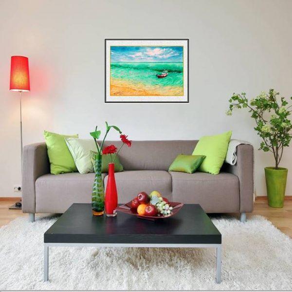 jual lukisan online pulau geleang karimun jawa lukisan indonesia 2012-1-1