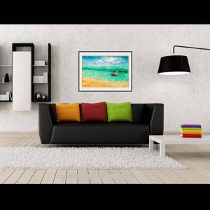 jual lukisan online pulau geleang karimun jawa lukisan indonesia 2012-1-2