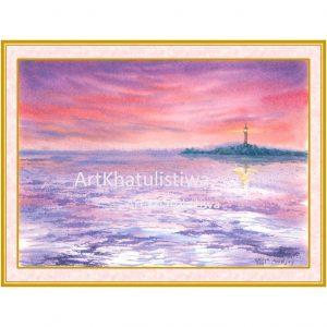 jual lukisan online surabaya 3011-1