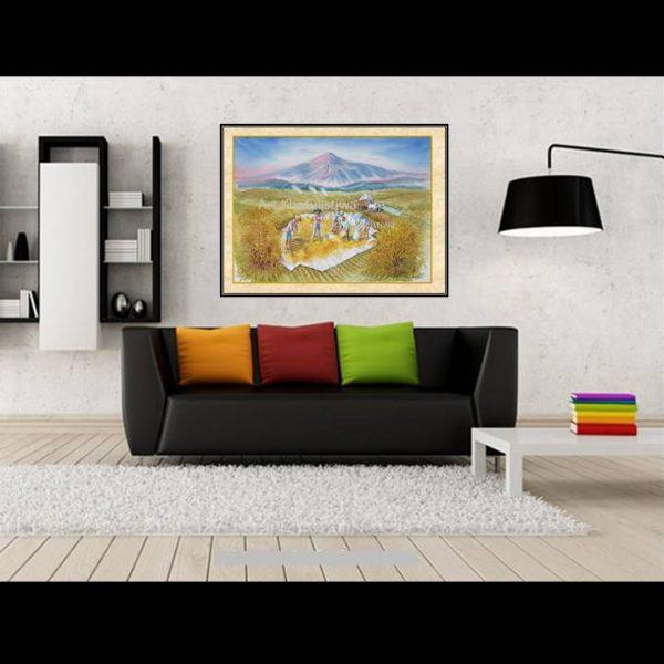 jual lukisan panen 1019-1-2