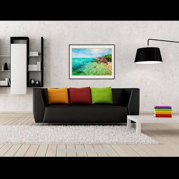 jual lukisan pemandangan indonesia belitung 2013-1-2