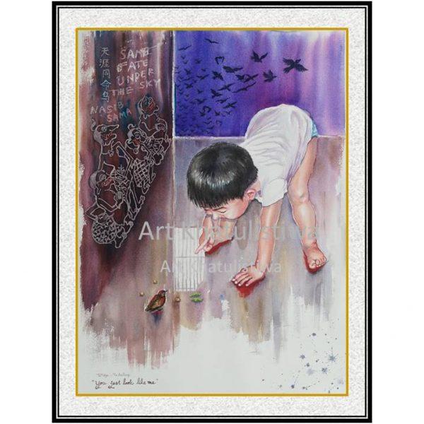 jual lukisan surabaya 10004-1