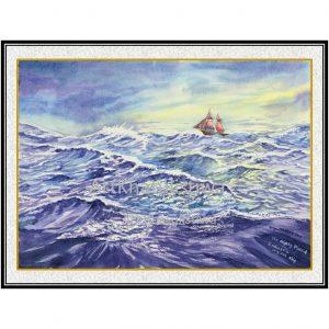 jual lukisan surabaya 6004-1