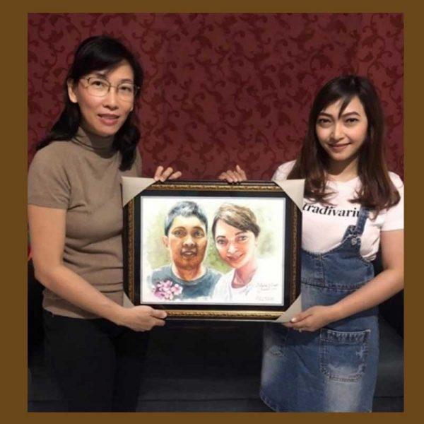 lukisan foto surabaya 11005-1