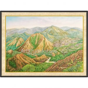 galeri lukisan gunung nona sulawesi selatan indonesia 1012-1
