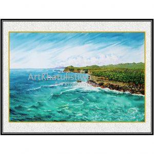 galeri lukisan surabaya pantai klayar jawa timur indonesia 2004-1