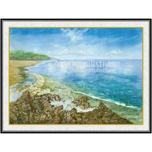 galeri online surabaya pantai bali lukisan indonesia 2005-1