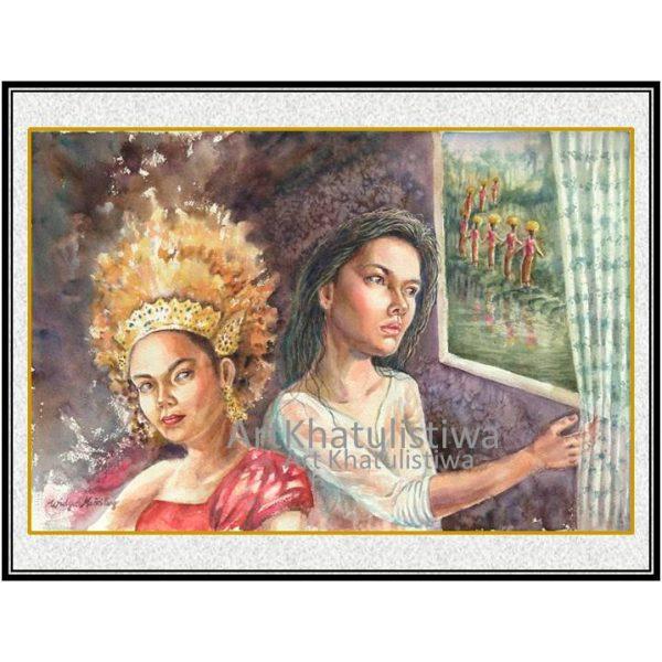 jual lukisan budaya suraabaya 9006