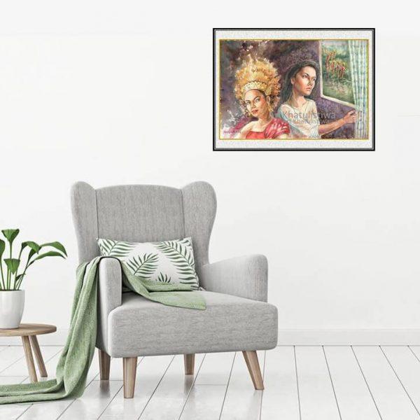 jual lukisan budaya surabaya 9006-1-2
