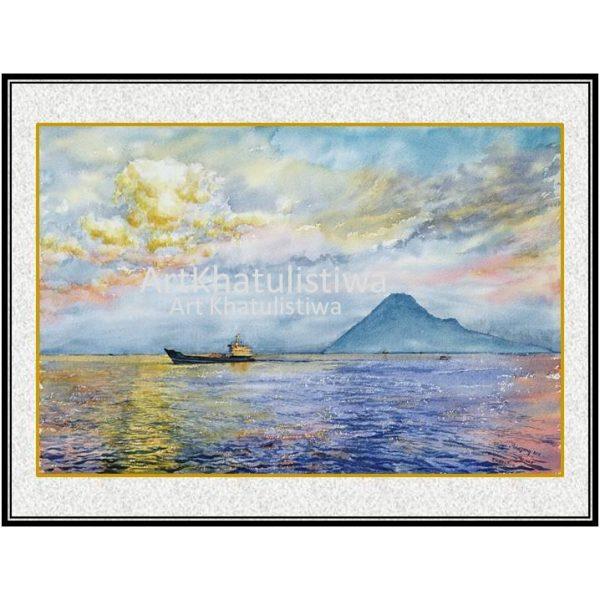 jual lukisan menado lukisan indonesia 2009-1