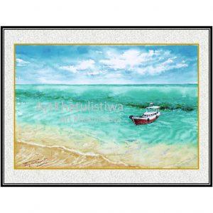 jual lukisan online pulau geleang karimun jawa lukisan indonesia 2012-1