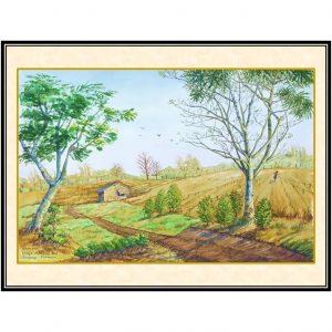 jual lukisan surabaya citraland 1005-1
