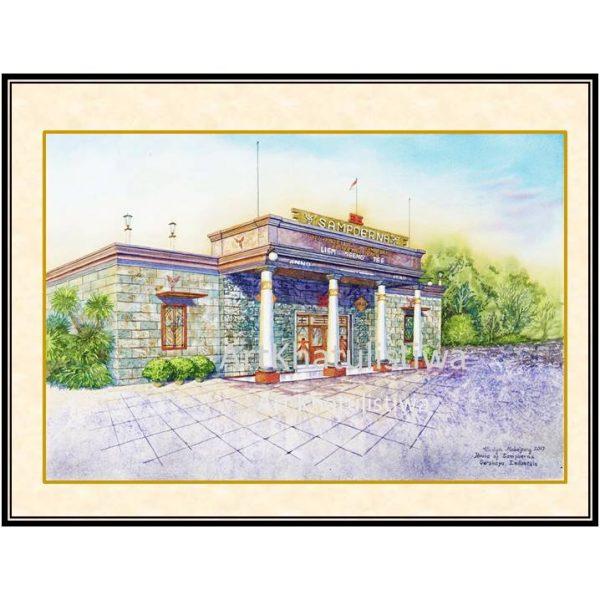 jual lukisan surabaya house of sampoerna 5002-1