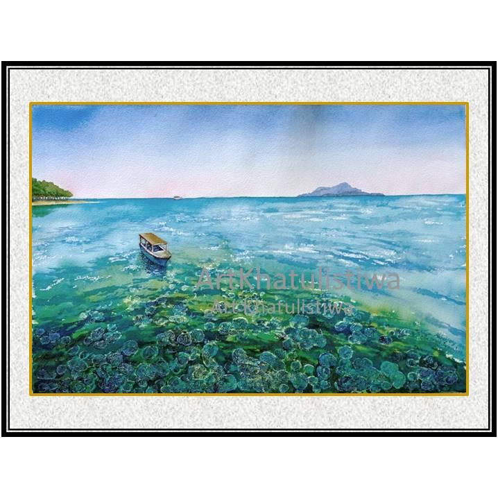 toko lukisan online pulau cilik karimun jawa lukisan indonesia 2007-1