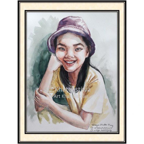 lukisan foto 11009-P